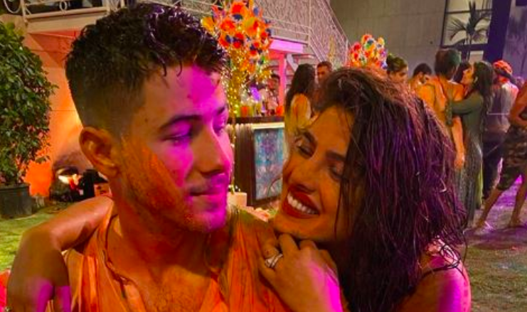 Nick joins Priyanka in India for his 1st Holi