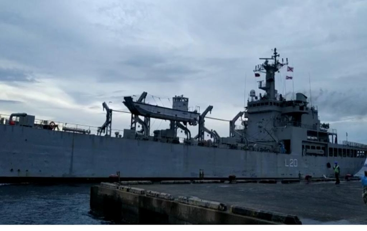 INS Magar carrying around 200 Indian nationals leaves for Kochi from Maldives