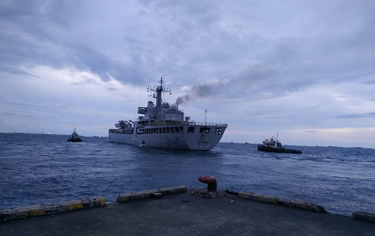 Vande Bharat Mission : 2nd Indian ship leaves from Maldives for Kochi