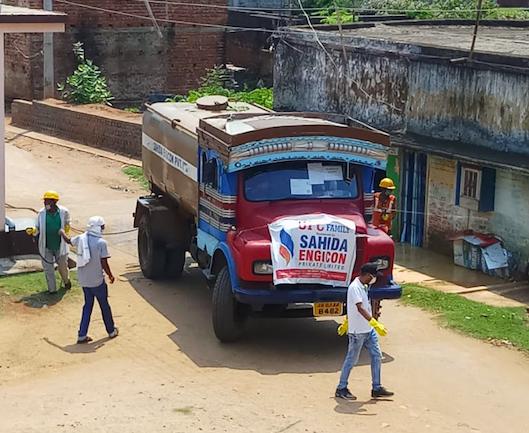 झारखंड: चाकुलिया को किया जा रहा सैनिटाइज