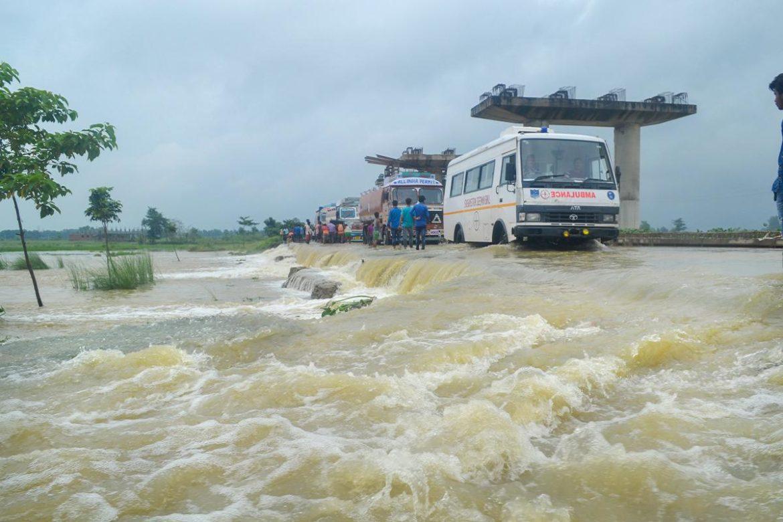लगातार हो रही बारिश से उत्तर बिहार की अधिकांश नदियां खतरे के निशान से ऊपर: बिहार