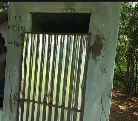 इठर गाँव में शौचालय निर्माण में गड़बड़ी: झारखंड