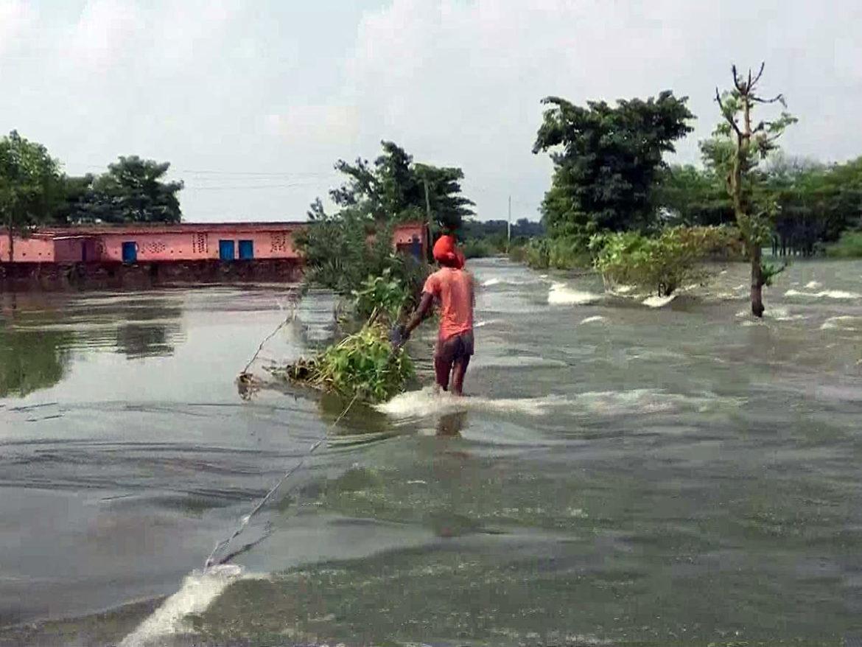 नदियों के जलस्तर में बढ़ोतरी जारी: बिहार