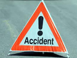 हादसा: सड़क दुर्घटना में स्टटे बैंक के कर्मचारी हुुए घायल