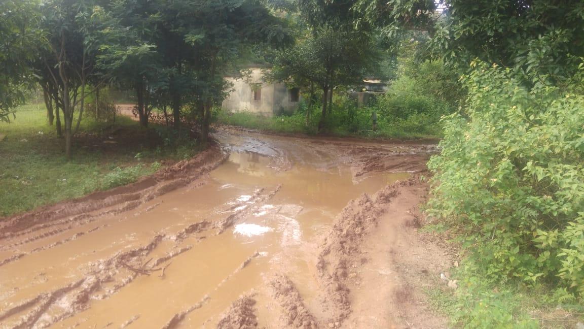 जर्जर हुई सड़क, गोदाम तक नहीं पहुंच पाता वाहन: कुमारडुँगी